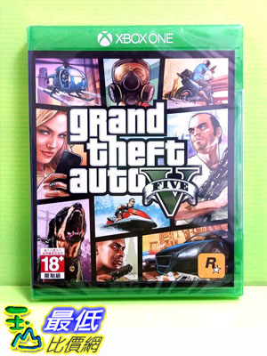 (現金價) Xbox One GTA5 俠盜獵車手5 亞版中文版 Grand Theft Auto V