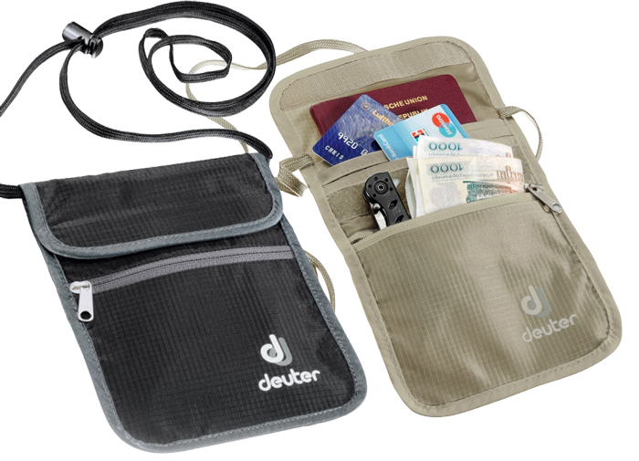 [德國Deuter] 隱藏式 錢包 Security wallet II 旅行用腰帶式藏錢/證件/護照/防竊/ 防搶 #39210