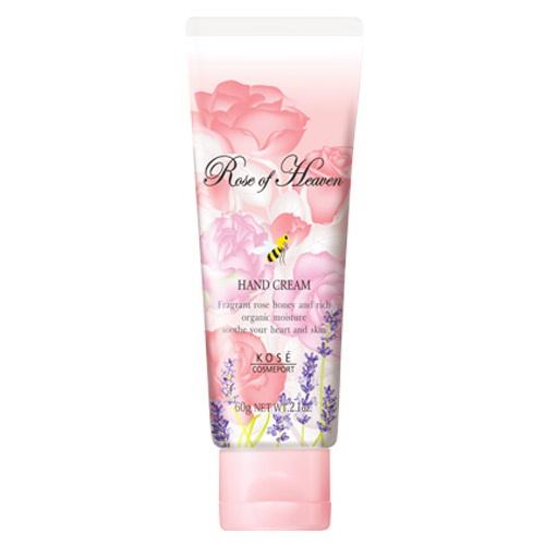 KOSE高絲玫瑰天堂護手乳60g~大馬士革玫瑰提取精華+五種珍貴有機花卉蜂蜜