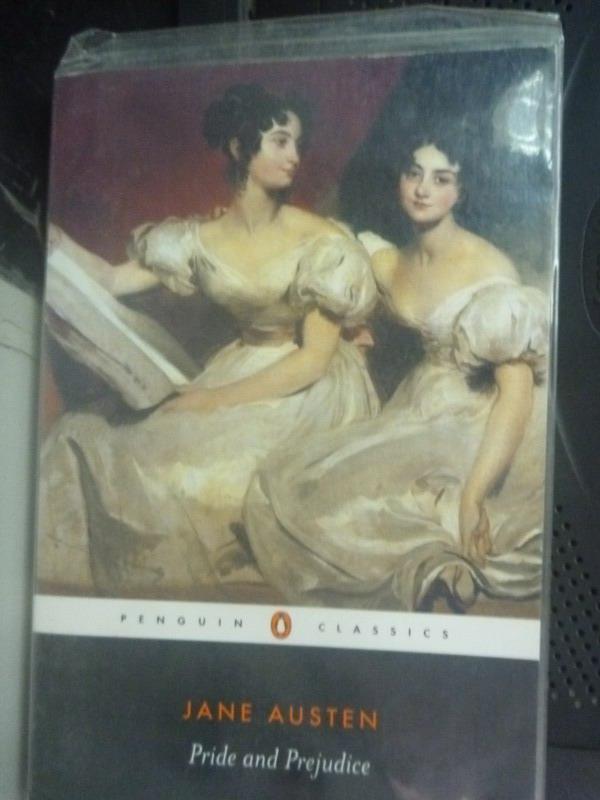 【書寶二手書T3/原文小說_ILE】Pride and Prejudice_Austen, Jane