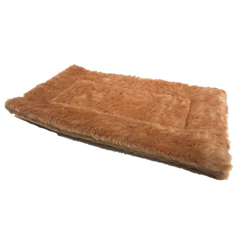 MIDWEST 美國中西-超厚鑽石絨寵物保暖床墊/毛毯/咖啡色