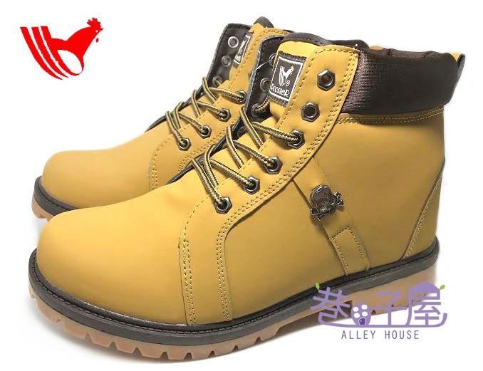 【巷子屋】ROOSTER公雞 男款經典黃靴 戰鬥靴 登山運動鞋 [7617] 黃 超值價$690
