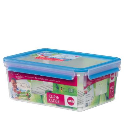 德國EMSA 3D濾片型保鮮盒 3.7L #515736