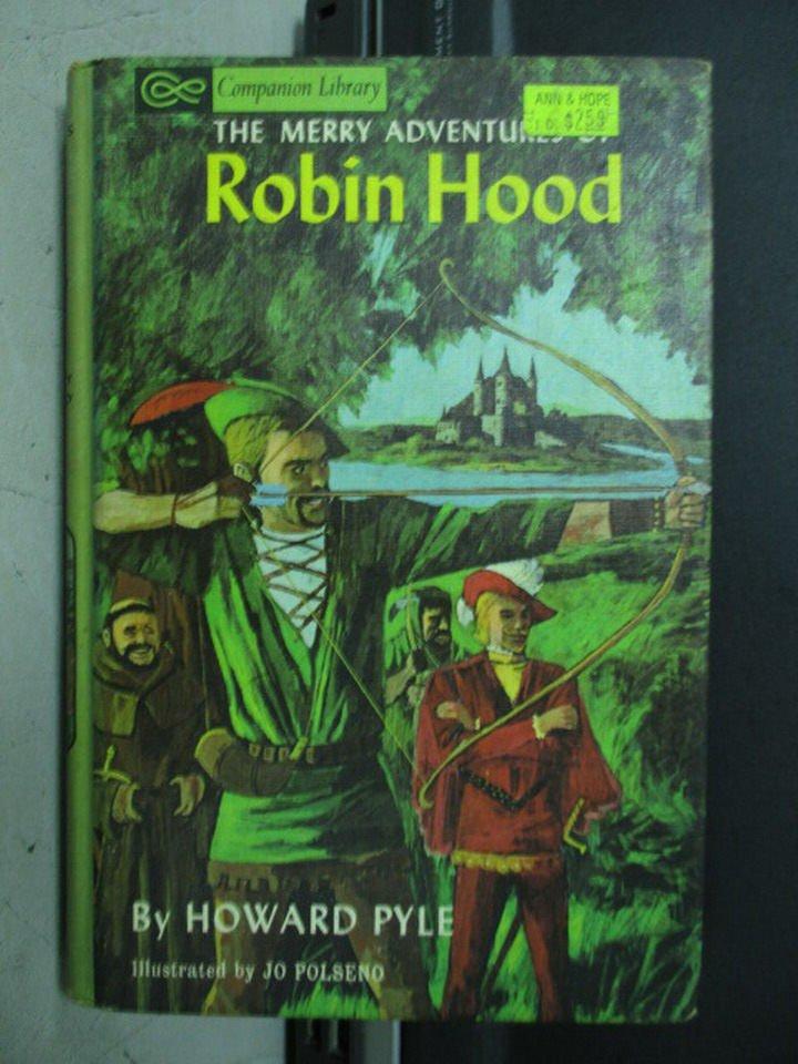 【書寶二手書T5/原文小說_LOH】Robin hood_howard pyle