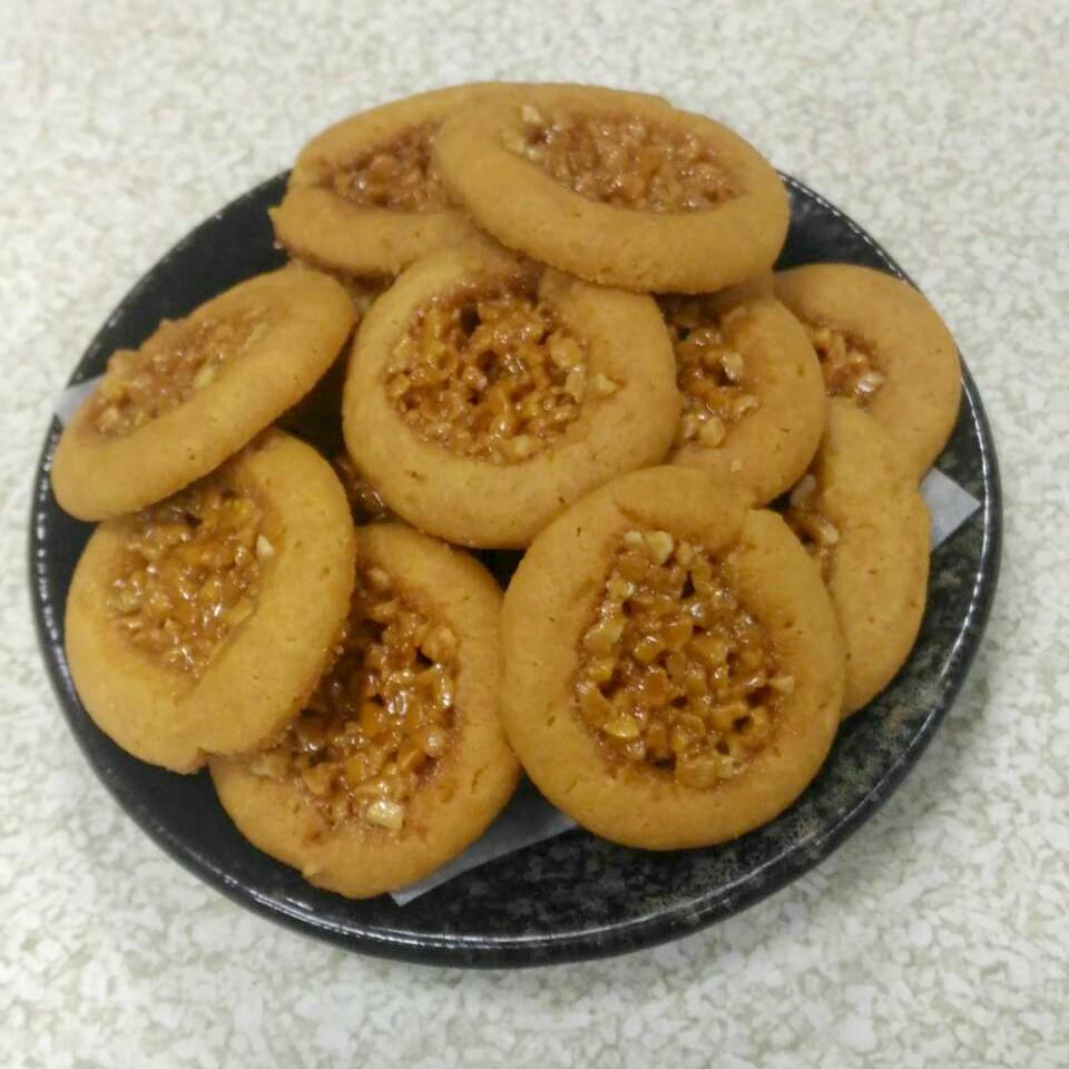 焦糖餅乾(杏仁角) -1包-10片-95+-5g