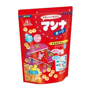 森永立袋三角蛋酥42g