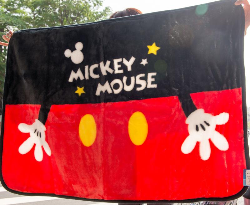 迪士尼 米奇 Micky 禦寒毛毯 日本正版品