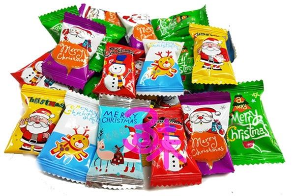 (馬來西亞)日日旺聖誕軟Q糖 (葡萄&芒果&草莓) 1包 600 公克(約 85顆) 特價 148元 (濃郁水果味QQ軟糖 聖誕水果QQ糖 聖誕拐杖 聖誕軟糖)