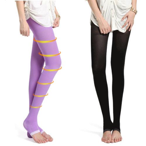 PS Mall 新款680D 長褲睡眠褲襪 睡眠襪夜晚襪 小腹睡眠襪 美腿襪 塑型美腿襪 睡眠 襪【HS21】