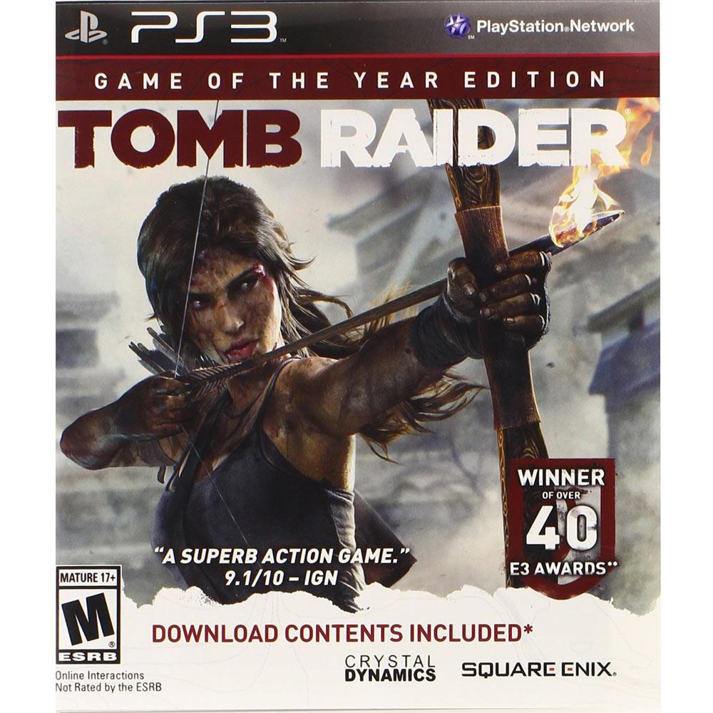 PS3 古墓奇兵 年度版 英文美版 Tomb Raider Game of the Year