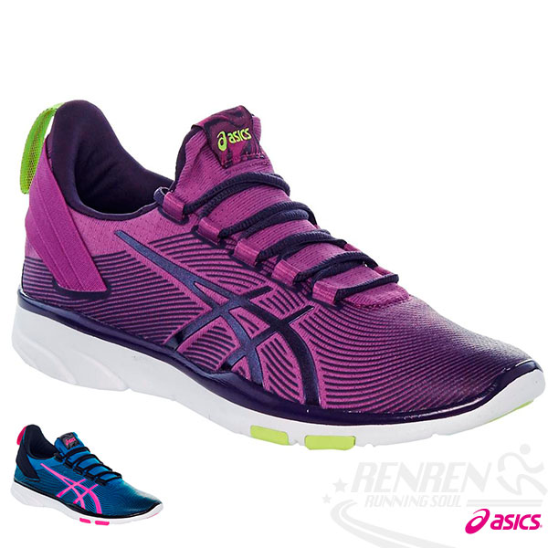 ASICS亞瑟士 女慢跑鞋 (紫)  GEL -FIT SANA 2  健身房鞋 休閒鞋
