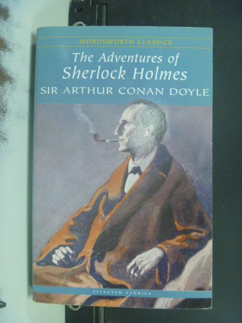 【書寶二手書T1/一般小說_GPN】Adventures of Sherlock Holmes