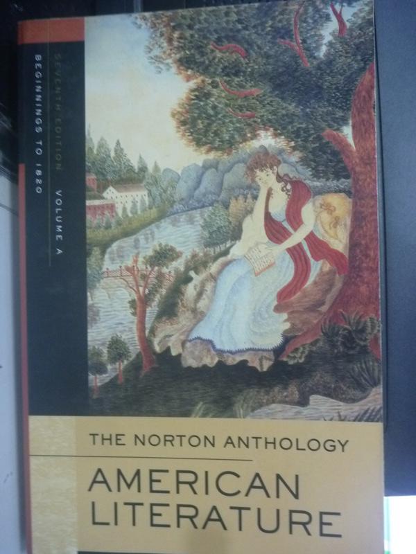 【書寶二手書T4/文學_WGA】Norton Anthology American_Wayne Franklin