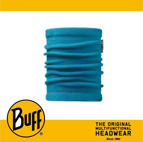 BUFF 西班牙魔術頭巾 POLAR保暖系列 領巾 [海藍素面] BF113125-737-10