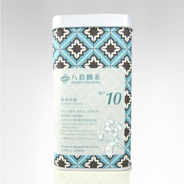 【八拾捌茶 窨製花茶】茉莉烏龍 100g罐裝