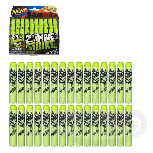 【Playwoods】[NERF樂活打擊]打擊者30發子彈補充包(30入/孩之寶Hasbro/適用Elite系列子彈/僵屍系列/Zombie-Strike)