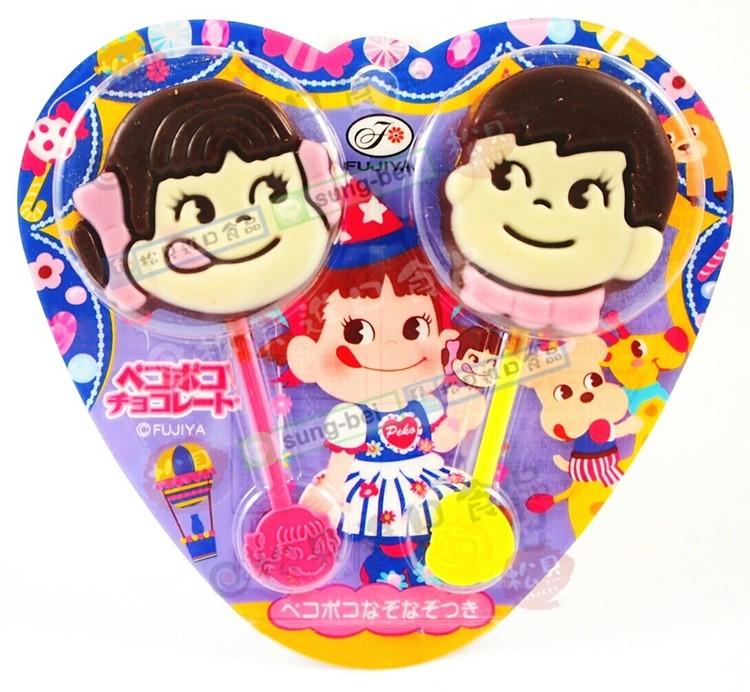 不二家娃娃巧克力棒24g【49755343】