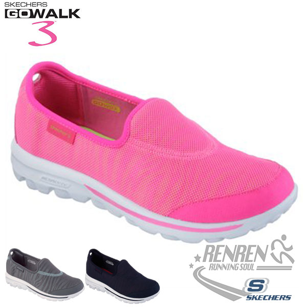 SKECHERS 女健走鞋GO WALK  (粉) 懶人鞋 運動鞋