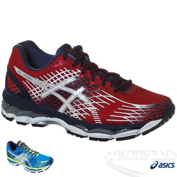 ASICS亞瑟士 男慢跑鞋 GEL-NIMBUS 17  (紅) 超高緩衝