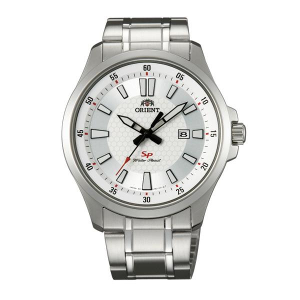 Orient 東方錶(FUNE1004W)運動風石英腕錶/白面42mm