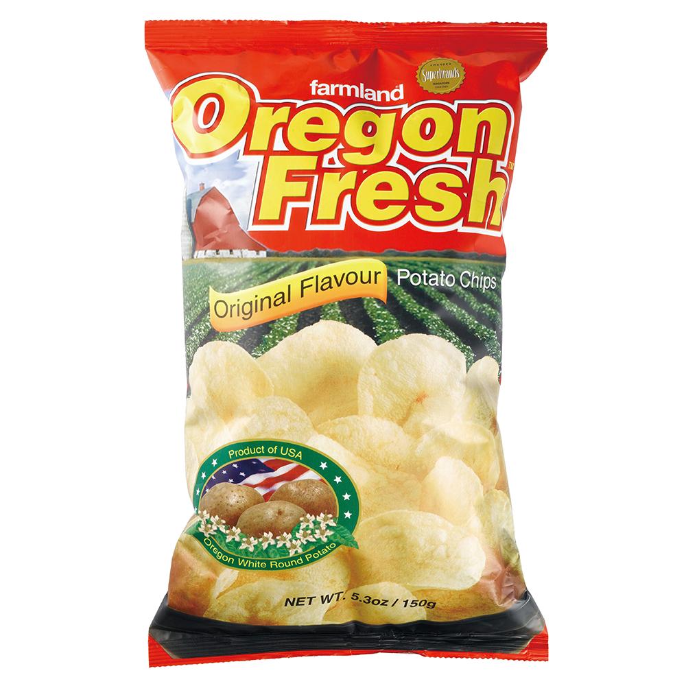 美國進口 Oregon 奧勒岡洋芋片-經典原味150g