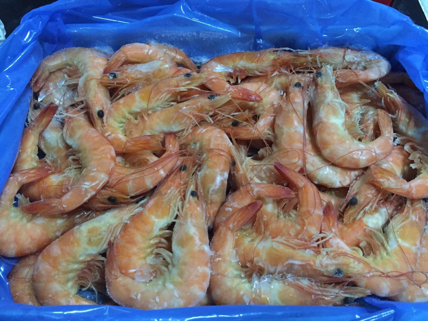泰國熟白蝦 40\50 1.2kg±10% / 盒