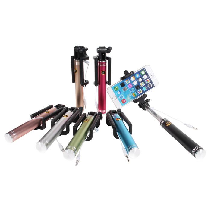 Ultimate- 鋁合金線控自拍桿 線控自拍棒 相機 遙控器自拍神器 七節伸縮