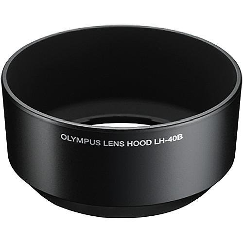 【普羅相機】OLYMPUS LH-40B 鏡頭遮光罩 (黑色)(需預訂)