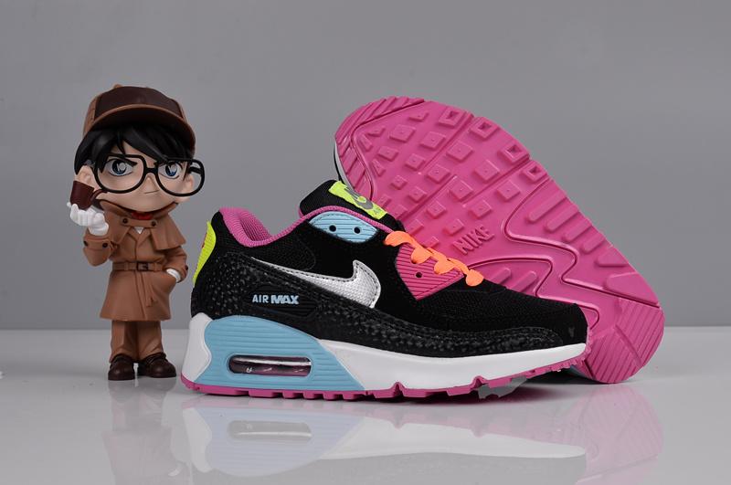 美國限定 歲末出清Nike Air Max 90 87慢跑鞋 氣墊 慢跑鞋 氣墊鞋 黑白百搭 馬卡龍 大童鞋 學步透氣 百搭