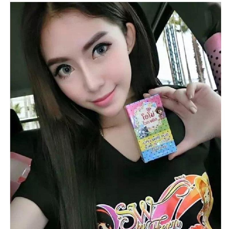 泰國正品 彩虹皂 OMO PLUS 彩虹潤膚皂 美白皂 彩虹皂 水果皂 洗澡 肥皂