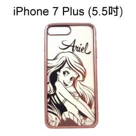 迪士尼電鍍軟殼[人物]愛麗兒 iPhone 7 Plus (5.5吋)【Disney正版授權】小美人魚