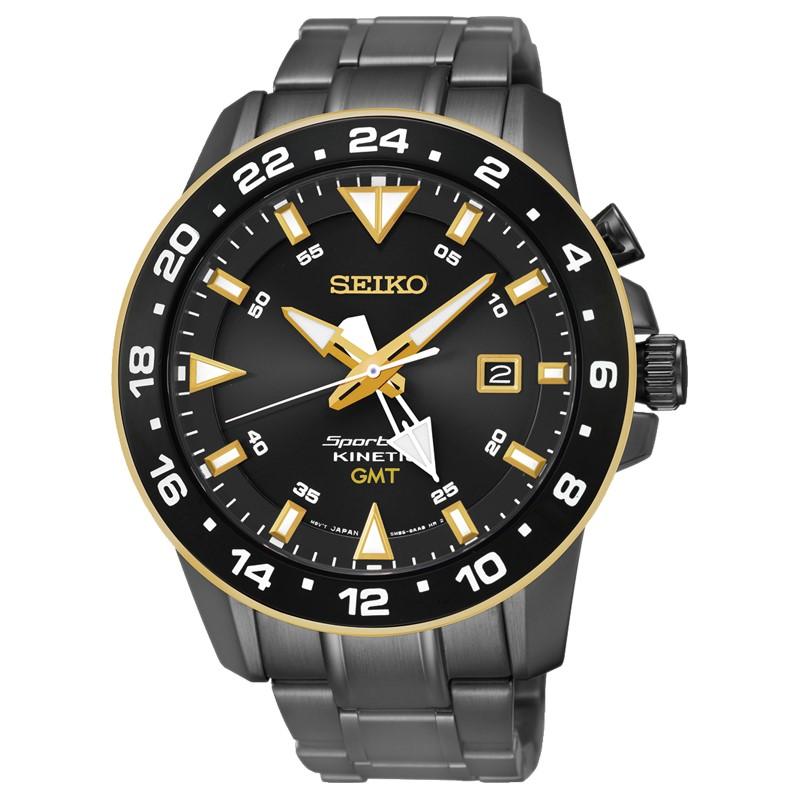 SEIKO SPORTURA人動電能錶GMT/5M85-0AA0SD/SUN026J1
