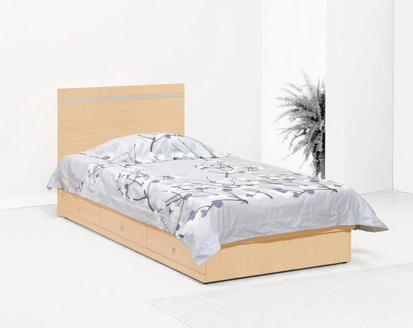 【石川家居】CM-202-12 妮可拉3.5尺白橡色床頭片 (不含床底與其他商品) 需搭配車趟