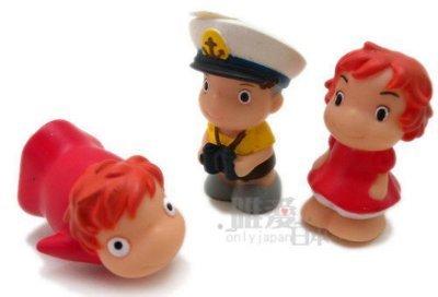 【真愛日本】 10102700076  指套娃娃-人型波妞   崖上的波妞 崖の上のポニョ  日本帶回