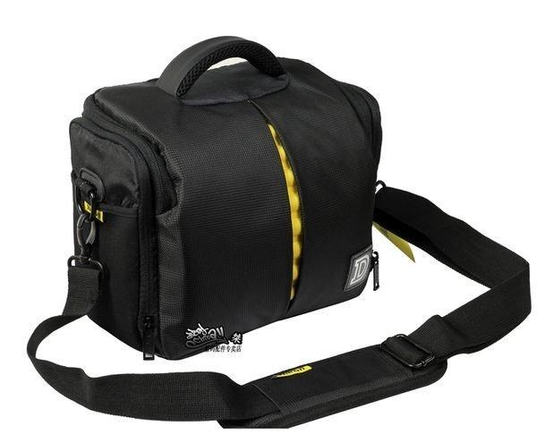 攝彩@Nikon 尼康高質感防水相機包-1機2鏡 一機二鏡攝影包-含防雨罩-手提、肩背兩用-20305