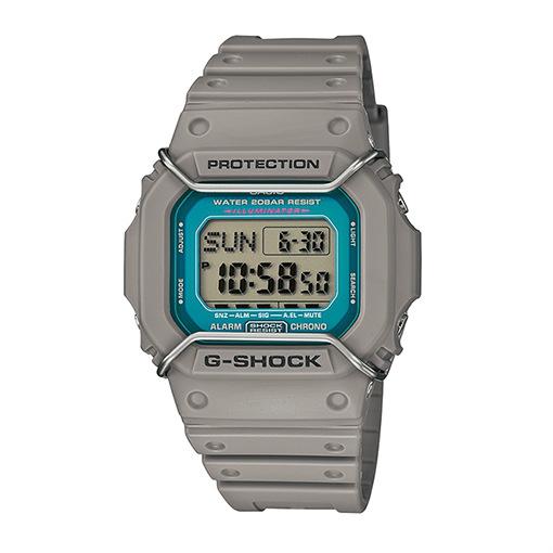CASIO G-SHOCK DW-D5600P-8DR數位鐵灰流行腕錶/45mm