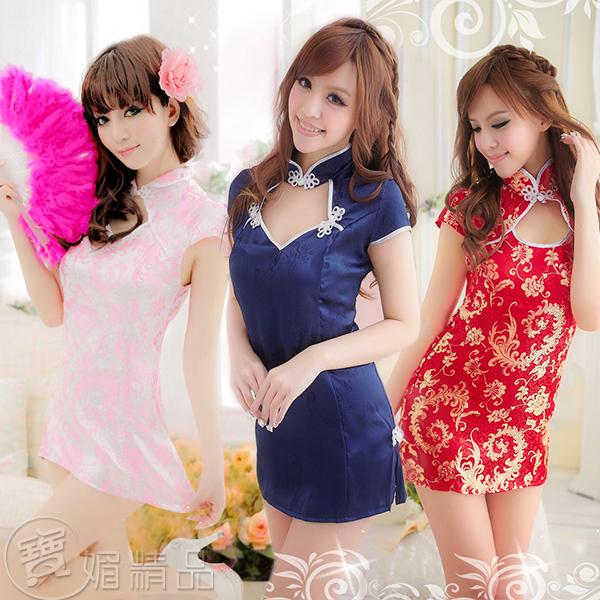 典雅旗袍 情趣内衣 角色扮演 性感套裝 旗袍 古典 cosplay 中國風 連身裙 D806