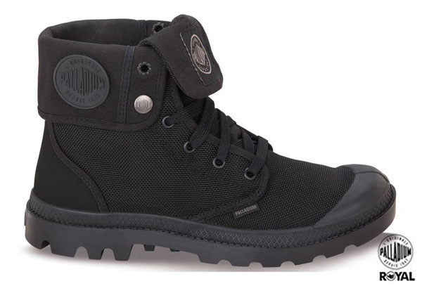 Palladium 新竹皇家 Attractive 黑色 防潑水 中統靴 男女款 NO.A6785