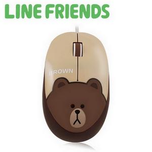 LINE FRIENDS 經典造型光學滑鼠 - 熊大 (LN-L01)