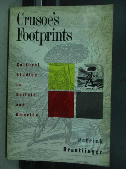 【書寶二手書T2/原文小說_JBL】Crusoe's footprints_1990
