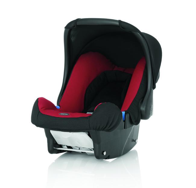 Britax - BABY-SAFE 提籃型安全汽車座椅(汽座) -紅