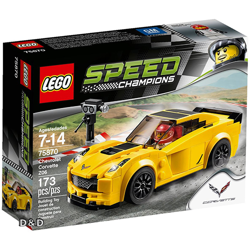樂高積木 LEGO《 LT75870 》SPEED CHAMPIONS 系列 - Chevrolet Corvette Z06