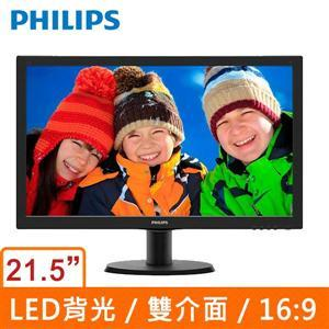 PHILIPS 飛利浦 223V5LSB2 22型LED寬螢幕顯示器