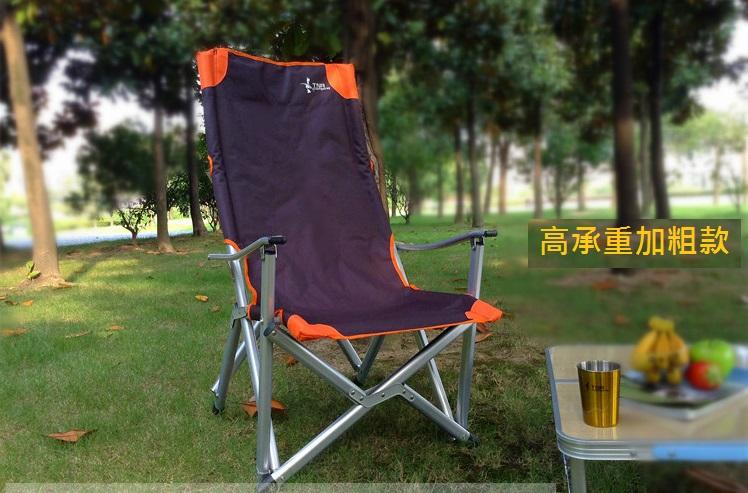 【露營趣】中和 TNR-114 日韓熱銷 鋁合金休閒椅 摺疊椅 巨川椅 折疊椅 高背椅 露營椅