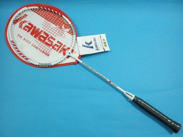 Kawasaki 川崎羽毛球拍KBA500羽球拍 羽拍(附拍套)/一支入{定500}