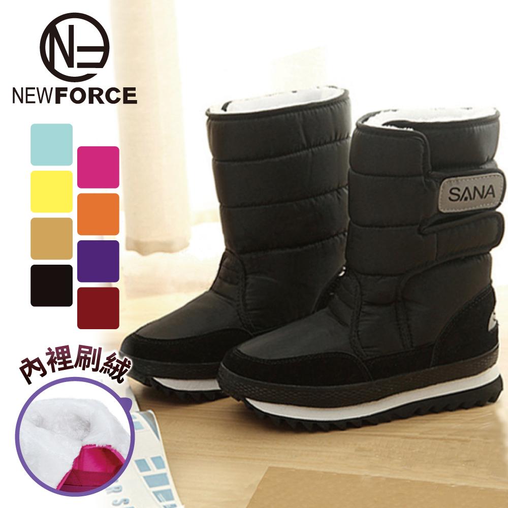 【NEW FORCE】防水防滑保暖雪地太空靴 - 8色可選【6030201】