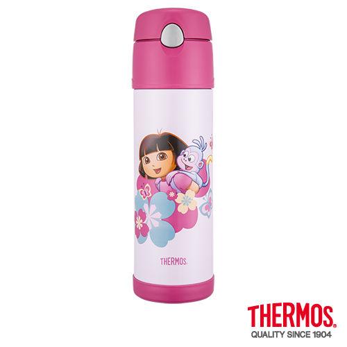 【膳魔師】 不鏽鋼真空保冷瓶(0.53L)HS4010DR-PK