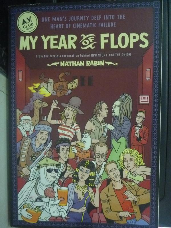 【書寶二手書T6/原文小說_ZJW】My Year of Flops: The A.V. Club Presents_R