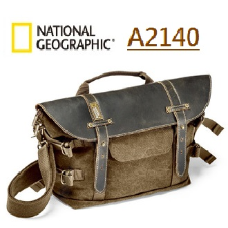 國家地理包 National Geographic  正成公司貨 NG A2140 - Midi Satchel 中型側背包  NEW ARFICA 非洲系列白金版