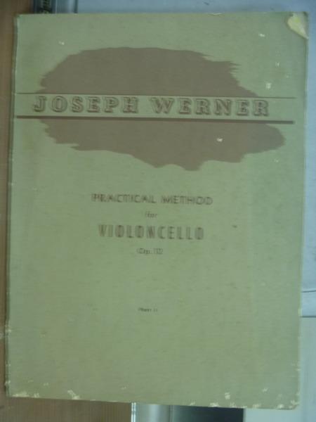 【書寶二手書T1/音樂_QLY】Joseph Werner